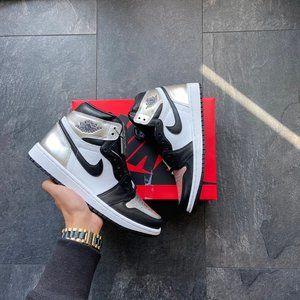 Nike Air Jordan 1 High White  Black  University Bl